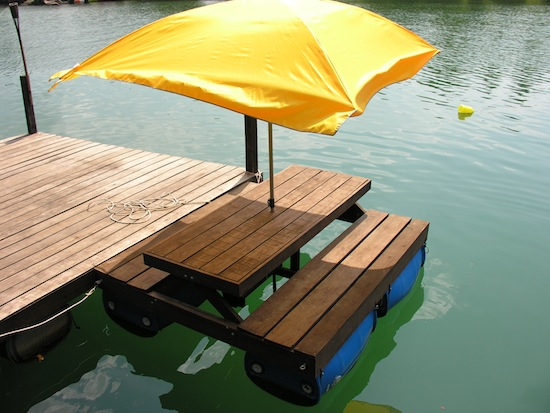 Tabletops travel page 99 tipsy pipsy motorised floating picnic table moleys thailand watchthetrailerfo